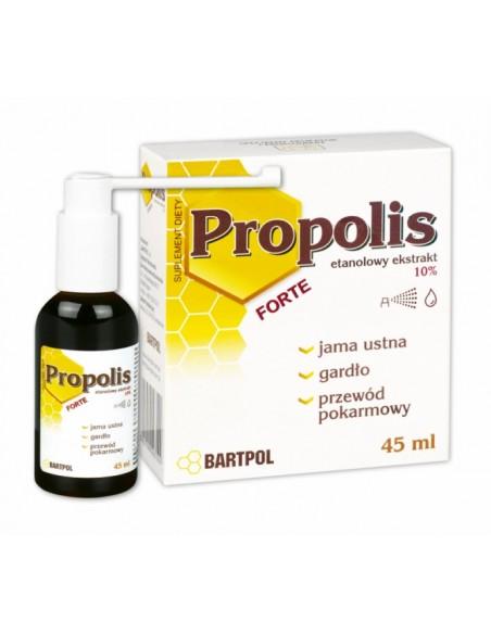 Propolis etanolowy ekstrakt 10% 45ml BARTPOL