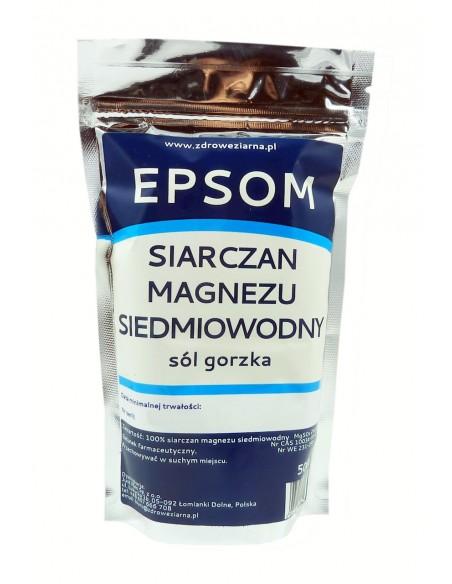 Sól gorzka EPSOM 500g JUST MEN (Siarczan magnezu siedmiowodny)