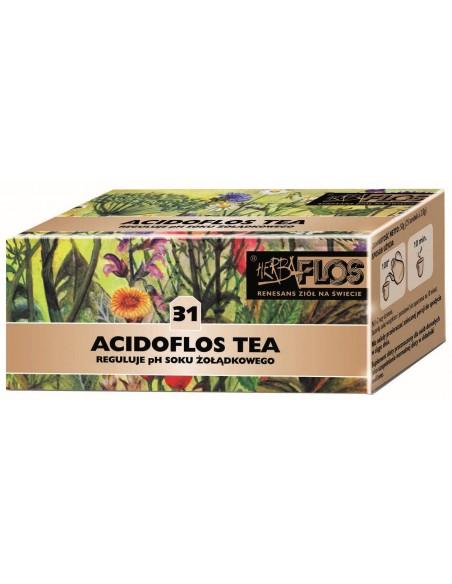 Acidoflos 31 TEA 25fix - nadkwaśność HERBA-FLOS