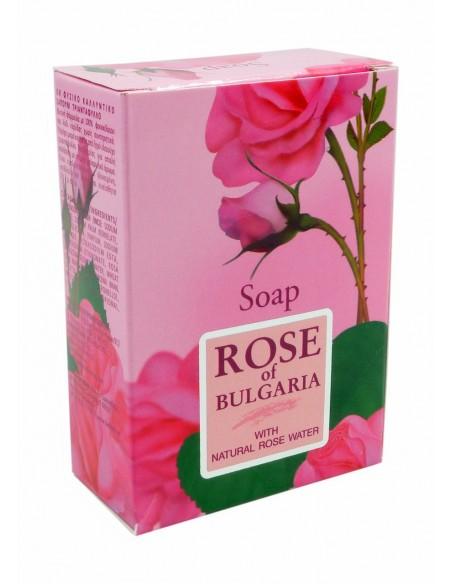 ROSE Mydło kostka 100g BIOFRESH
