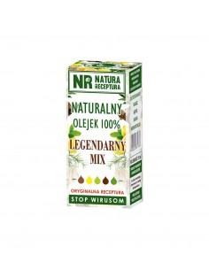 Olejek naturalny 100% -  Legendarny mix - stop wirusom 10ml NATURA RECEPTURA