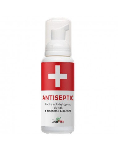 GORVITA Antiseptic Pianka antybakteryjna do rąk z aloesem i alantoiną 100ml