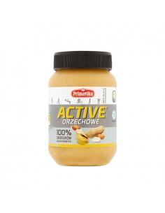 PRIMAVIKA Masło orzechowe Active 100% orzeszków arachidowych 470g