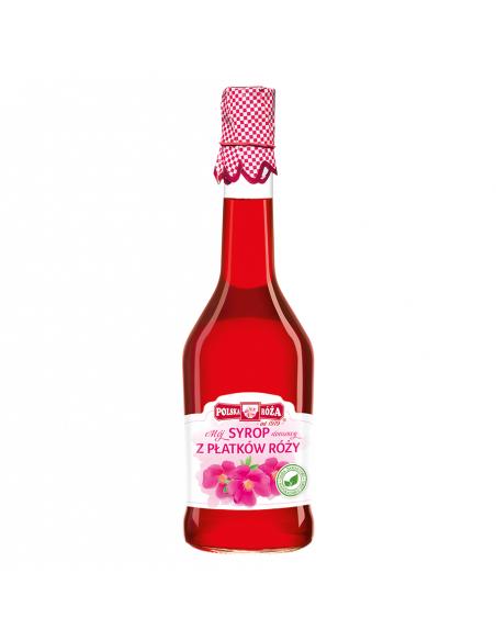 Syrop z płatków róży 500ml POLSKA RÓŻA