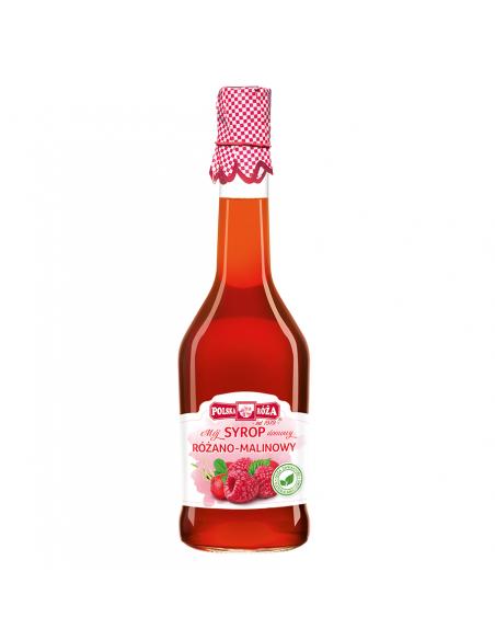 Syrop różano-malinowy 500ml POLSKA RÓŻA