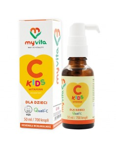 MyVita Witamina C KIDS w KROPLACH 50ml