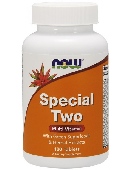 NOW FOODS Special Two 180tabl. (Multi Vitamin)
