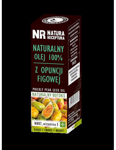 Olej z opuncji figowej 100% naturalny 50ml NATURA RECEPTURA