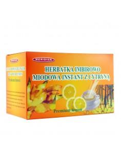 Herbata imbirowo-miodowa instant z cytryną 12sasz. MERIDIAN