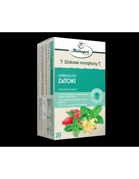 Herbata ZATOKI fix 20*2g HERBAPOL KRAKÓW
