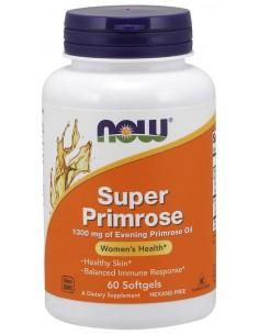 NOW FOODS Super Primrose 1300mg, 60 sgels. - Olej z wiesiołka
