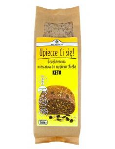 PIĘĆ PRZEMIAN Mieszanka do wypieku chleba KETO bezglutenowa 500g