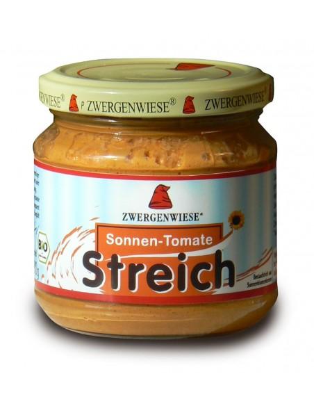 ZWERGENWIESE Pasta słonecznikowa z suszonymi pomidorami bezglutenowa 180g BIO