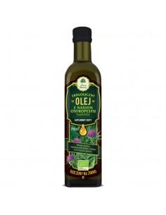 Olej z nasion ostropestu plamistego tłoczony na zimno BIO 250ml DARY NATURY